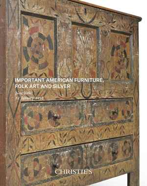 American Furniture, Folk Art a auction at Christies