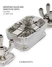 Important Silver and Objects o auction at Christies