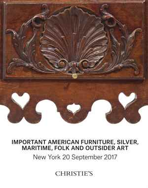 Important American Furniture, Silver, Maritime, Folk and Out