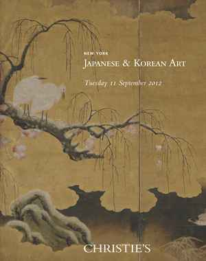 Japanese & Korean Art auction at Christies