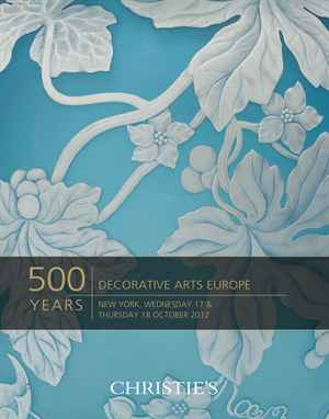 500 Years Decorative Arts Europe