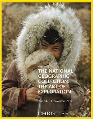 The National Geographic Collec auction at Christies