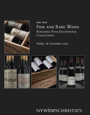 Fine & Rare Wines Featuring Four Exceptional Collections
