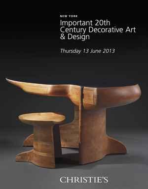 Important 20th Century Decorative Art & Design