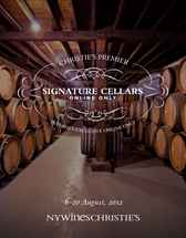 Signature Cellars: Online Only auction at Christies