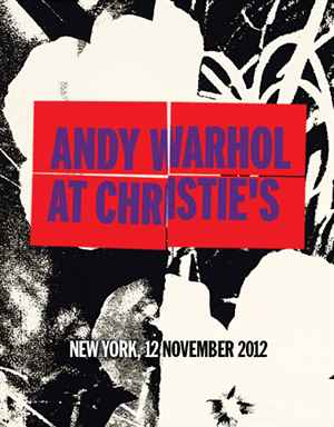 Andy Warhol at Christies Sold  auction at Christies