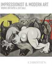 Impressionist & Modern Works o auction at Christies