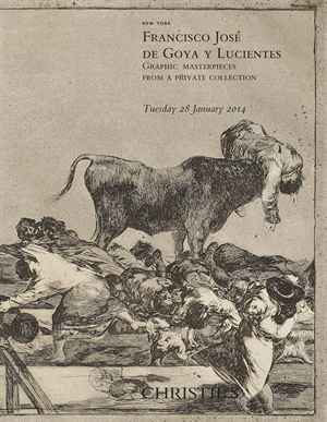 Francisco José de Goya y Lucie auction at Christies