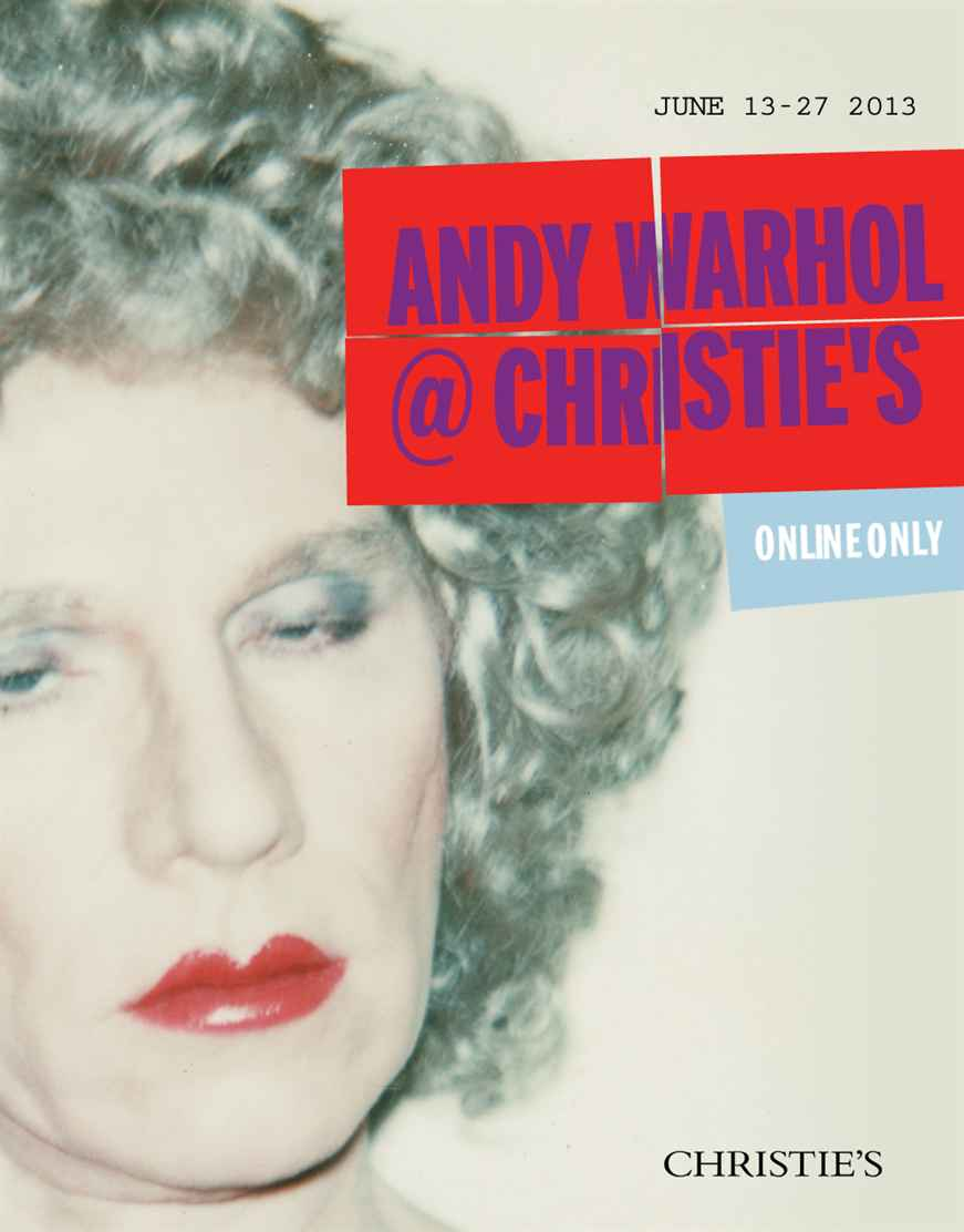 Andy Warhol @ Christies For Members Only Eyes on the Guise