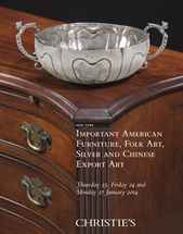 Important American Silver auction at Christies