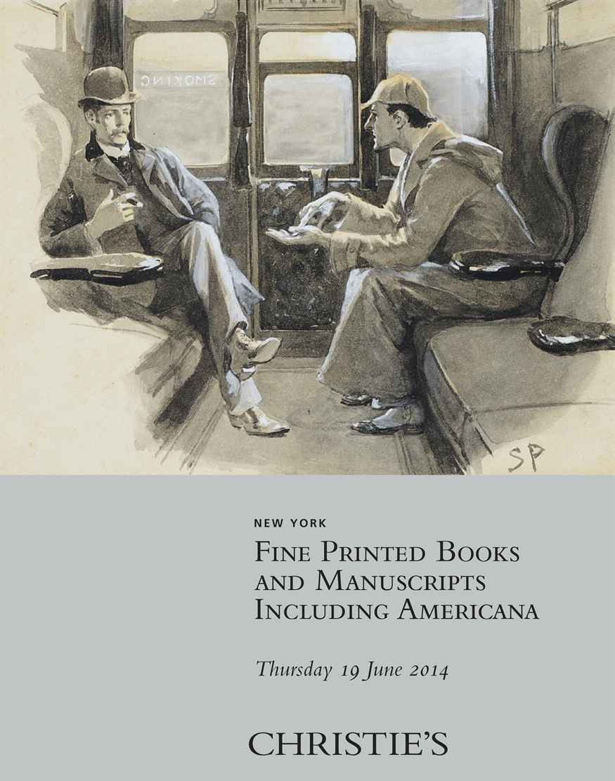 Fine Printed Books and Manuscripts including Americana