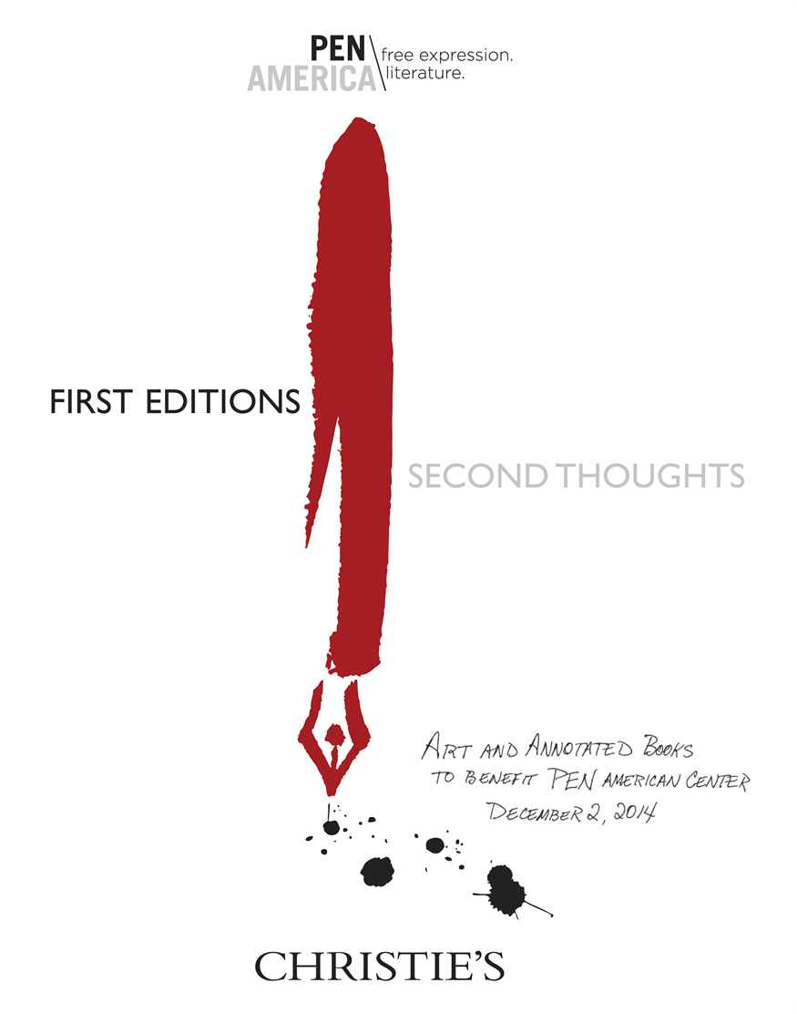 First Editions, Second Thoughts An Auction of Books and Artwork to Benefit PEN American Center