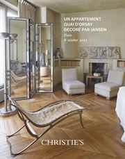 Un appartement quai dOrsay déc auction at Christies