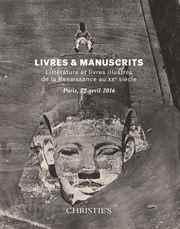 Livres et manuscrits : Littéra auction at Christies