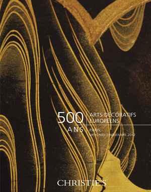 500 ans : Arts Décoratifs Européens