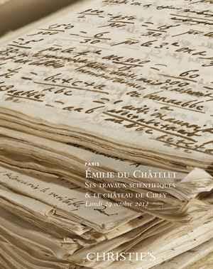 Emilie du Châtelet : ses travaux scientifiques et le château