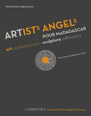 Artists Angels pour Madagascar auction at Christies
