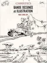 Bande Dessinée et Illustration auction at Christies