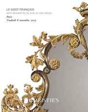 Le Goût Français auction at Christies