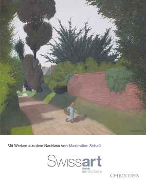 Swiss Art  auction at Christies