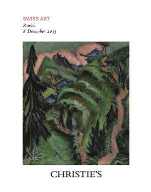 Swiss Art Sale auction at Christies