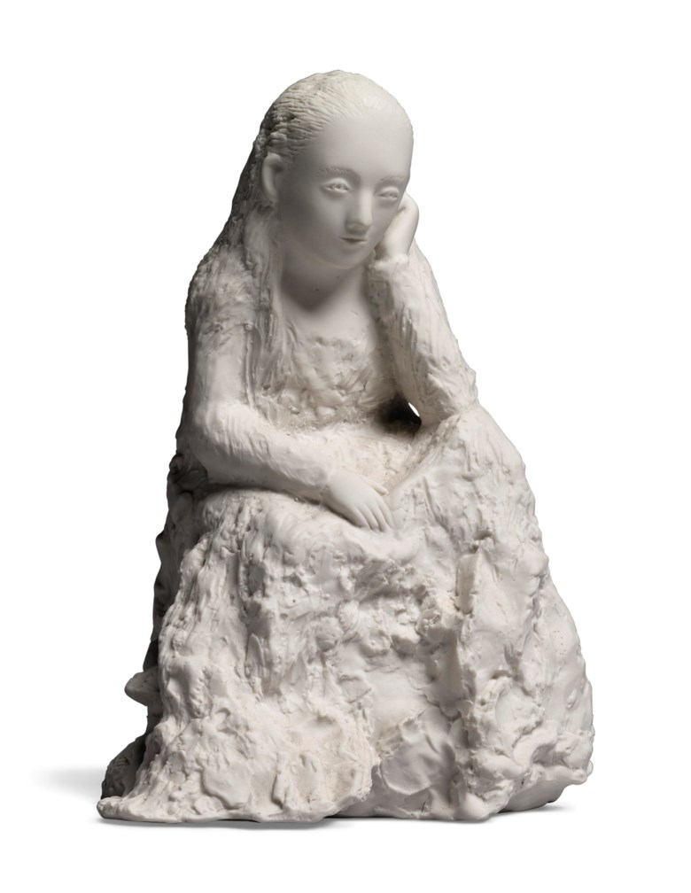 Kiki Smith (b. 1954), Sitting and Thinking. Estimate                    £6,000-8,000. This lot is offered in First Open Online, 9-17 April 2018, Online