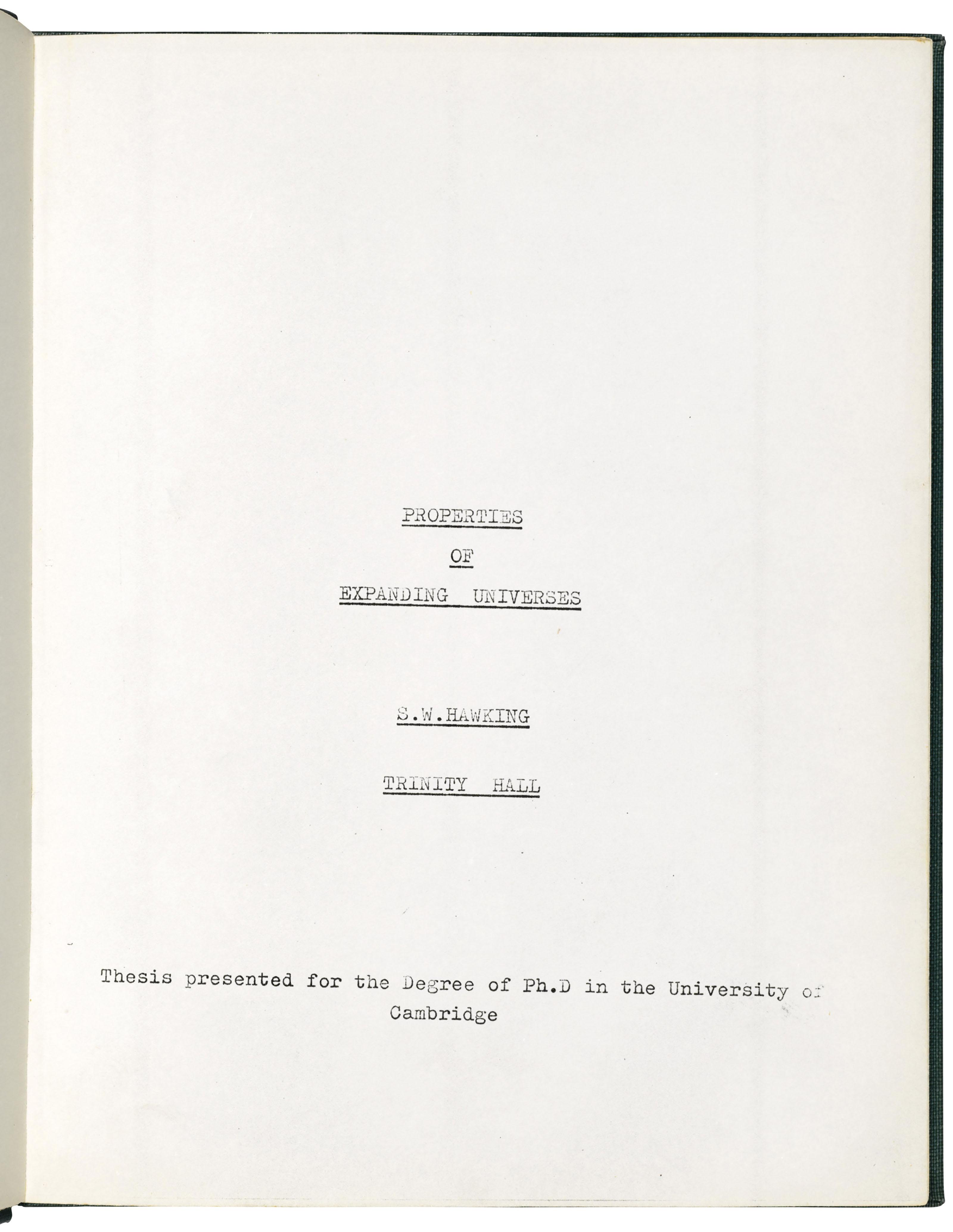 'This dissertation is my original work'