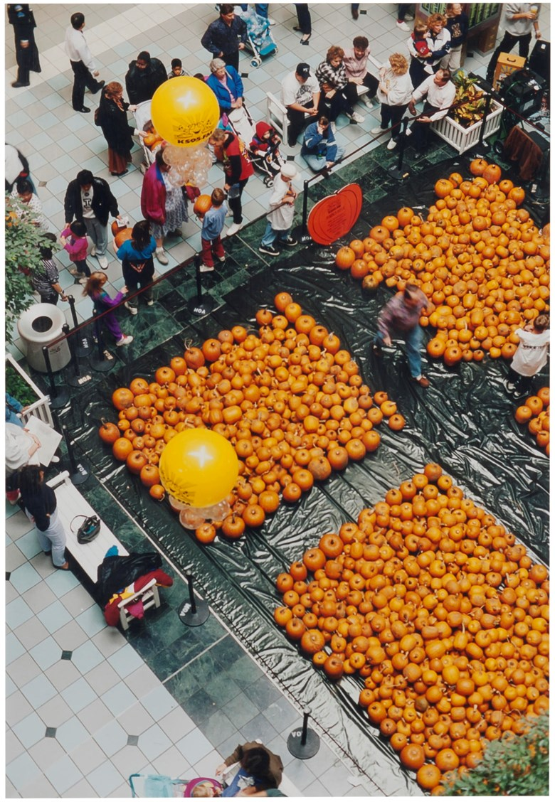 Wolfgang Tillmans (b. 1968), Mall of America, Pumpkins, 1995. Sheet 15¾ x 12 in (40 x 30.5 cm). Estimate                    £4,000-6,000. Offered in First Open Online, 12-20 September 2018