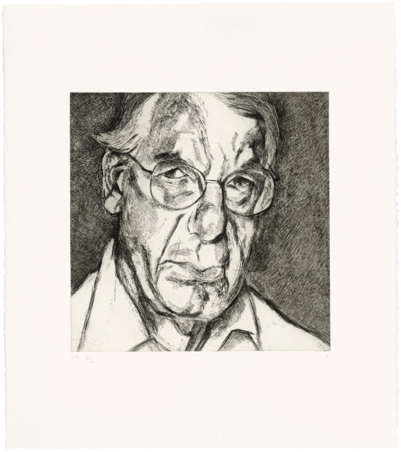 Lucian Freud (1922-2011), The New Yorker, 2006. Estimate                    £15,000-20,000. Offered in Contemporary Edition, 14-26 September 2018, Online