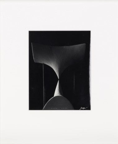 Hiroshi Sugimoto (b. 1948), Mathematical Form; surface 0045, from the series 'Conceptual Forms', 2005. Book 14⅛ x 12¼ x 2⅛ in (36 x 31 x 5.5 cm). Estimate                    £2,500-3,500. Offered in Edition Gerd Hatje Contemporary Photographs, Prints & Multiples, 19-26 July 2018, Online