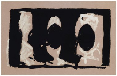 Robert Motherwell (1915-1991), Elegy Study I. Estimate                    $6,000-8,000. Offered in Contemporary Edition, 9-17 July 2018, Online