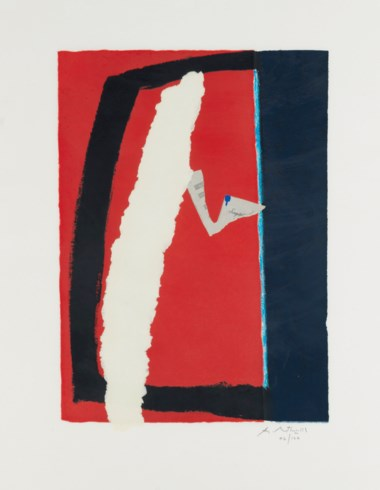 Robert Motherwell (1915-1991), Game of Chance. Sheet 34⅝ x 27⅜ in (880 x 695 mm). Estimate                    $6,000-8,000. Offered in Contemporary Edition, 9-17 July 2018, Online