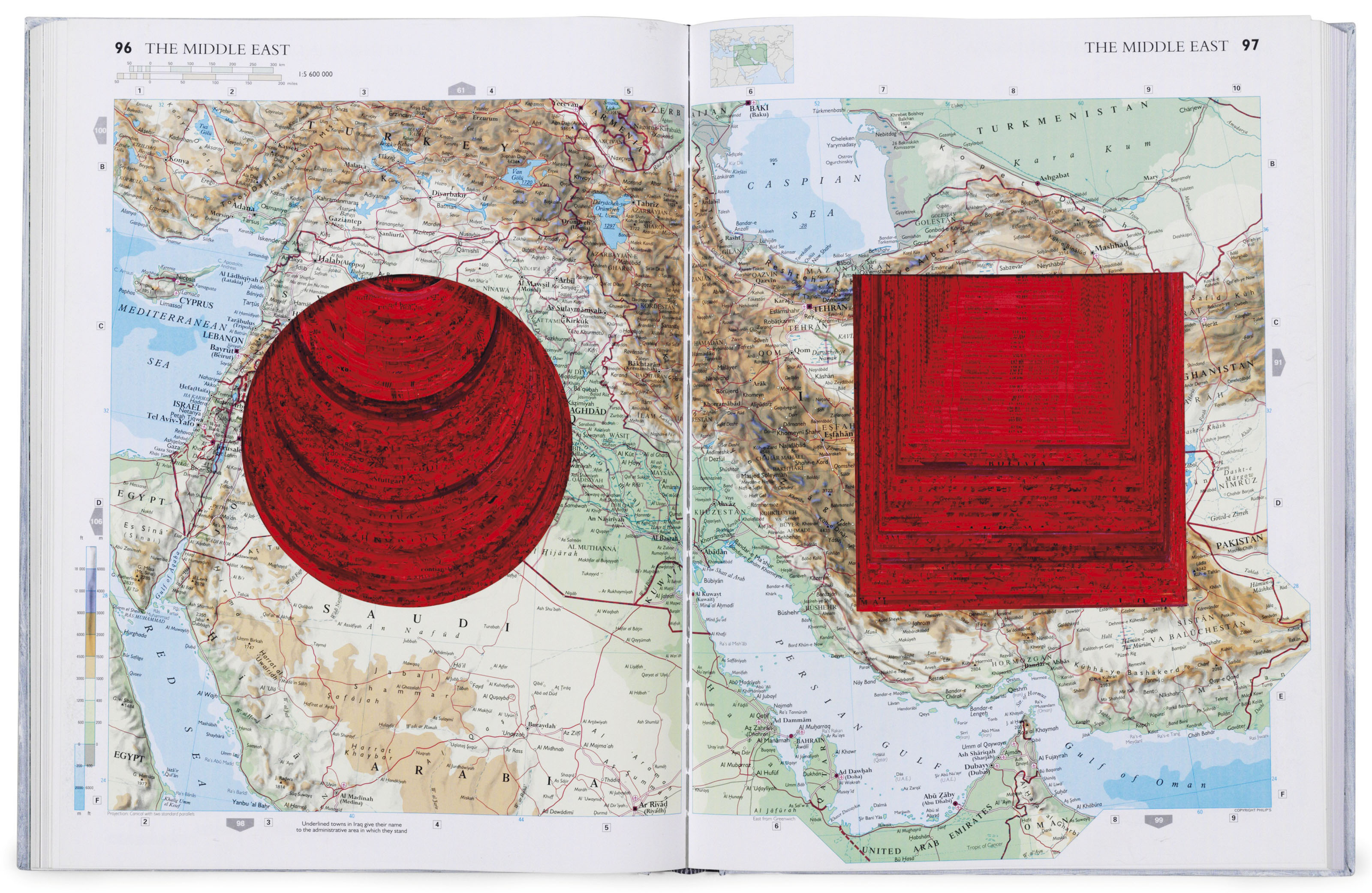 Anish Kapoor (b. 1954), Turning the World. Atlas 14¾ x 11¼ x 1⅝ in (375 x 286 x 41 mm). Estimate $4,000-6,000. Offered in Contemporary Edition, 9-17 July 2018, Online
