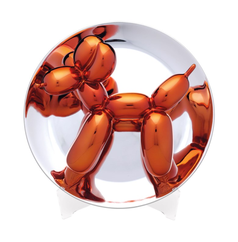 Jeff Koons (b. 1955), Balloon Dog (Orange). Diameter 10½ in (267 mm). Estimate                    $7,000-10,000. Offered in Contemporary Edition, 9-17 July 2018, Online