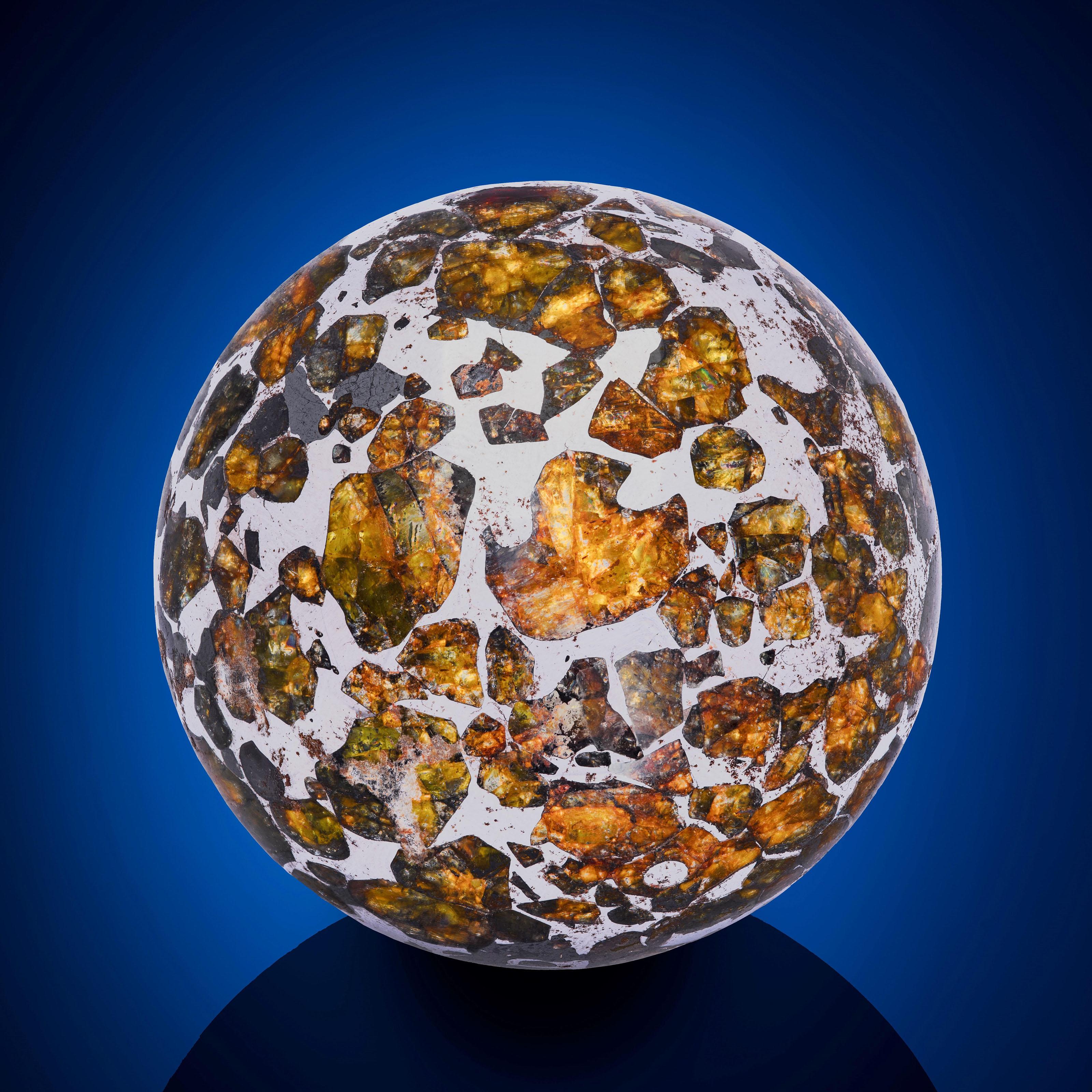 SEYMCHAN METEORITE SPHERE — AN EXTRATERRESTRIAL CRYSTAL BALL