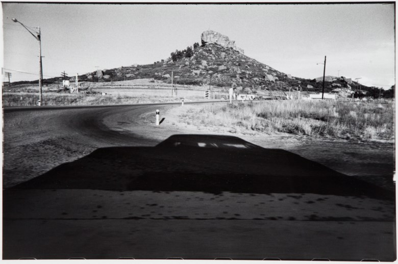 Garry Winogrand (1928–1984), Castle Rock, Colorado, 1959. This work is one of 13 artist's proofs aside from the edition of 100 from the portfolio Garry Winogrand (New York Hyperion Press, 1978). Sheet 11 x 14 in (28 x 35.7 cm). Estimate                    $3,000-5,000. This lot is offered in MoMA Garry Winogrand, 16-25 January 2018, Online