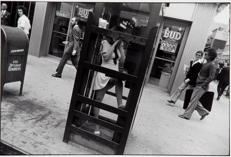 Garry Winogrand (1928-1984), New York City, from Women Are Beautiful, 1972. This work is number 48 from the edition of 80 from the portfolio Women Are Beautiful (New York RFG Publishing, 1981). Sheet 11 x 14 in (28 x 35.7 cm). Estimate $4,000-6,000. This lot is offered in MoMA Garry Winogrand, 16-25 January 2018, Online