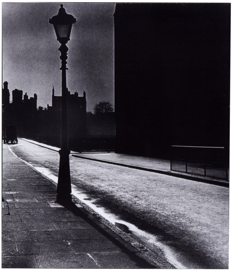 Bill Brandt (1904-1983), Deserted Street in Bloomsbury, London, 1942. Imagesheetflush mount 20 x 17¼ in (50.8 x 43.8 cm). Estimate                    $3,000-5,000. This lot is offered in MoMA Bill Brandt, 16-24 January 2018, Online