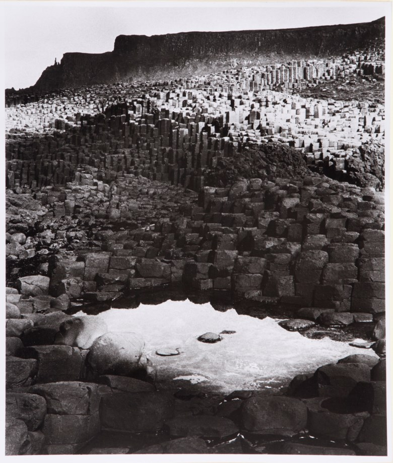Bill Brandt (1904-1983), Giants Causeway, Northern Ireland, 1946. Sheet 14¼ x 12¼ in (36.1 x 31.1 cm). Estimate                    $2,000-3,000. This lot is offered in MoMA Bill Brandt, 16-24 January 2018, Online
