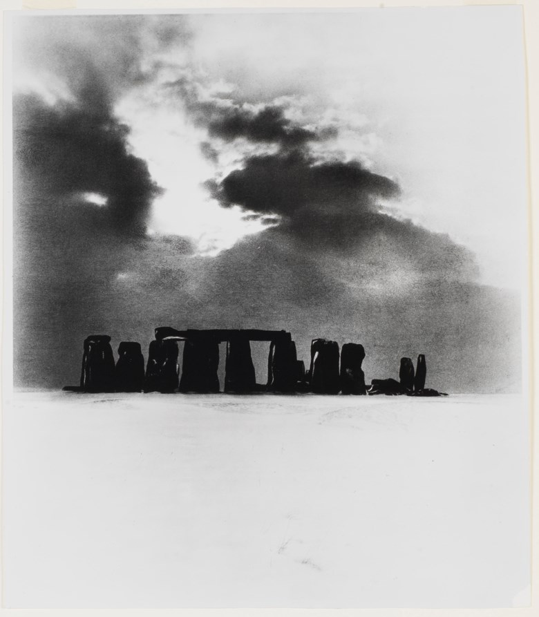 Bill Brandt (1904-1983), Stonehenge under Snow, 1947. Sheet 20¼ x 17½ in (51.4 x 44.4 cm). Estimate                    $3,000-5,000. This lot is offered in MoMA Bill Brandt, 16-24 January 2018, Online
