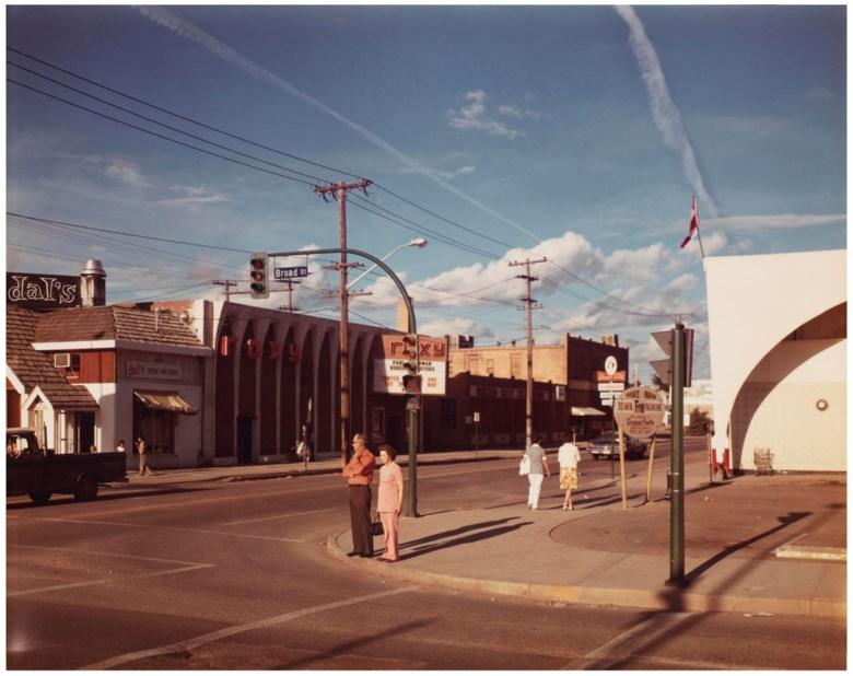 Stephen Shore (b. 1947), Broad Street, Regina, Saskatchewan, August 17, 1974. Imagesheet 8 x 10 in (20 x 25.5 cm). Estimate                    $8,000-12,000. Offered in Stephen Shore Vintage Photographs, 22-30 May 2018, Online