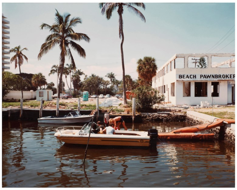 Stephen Shore (b. 1947), Fort Lauderdale, Florida, March 13, 1978. Sheet 11 x 14 in (28 x 35.5 cm). Estimate                    $6,000-8,000. Offered in Stephen Shore Vintage Photographs, 22-30 May 2018, Online